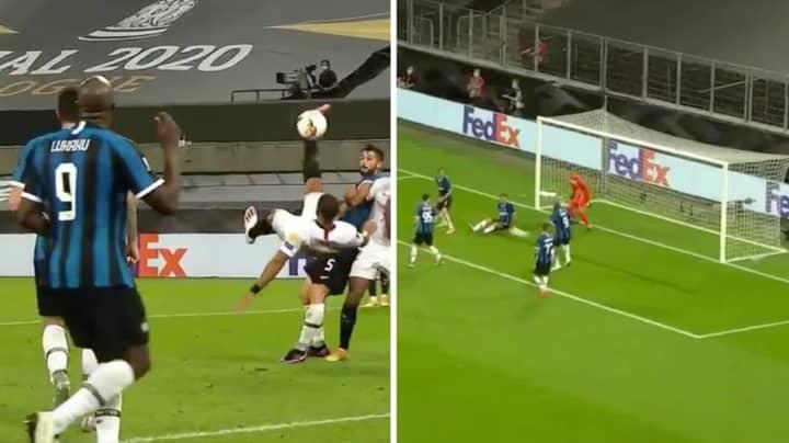 Sevilla Win Europa League After Romelu Lukaku Scores Own Goal From Overhead Kick