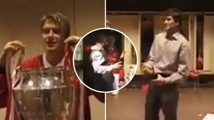 Rare Footage Of Manchester United's Dressing Room After 1999 Champions League Triumph Is Brilliant