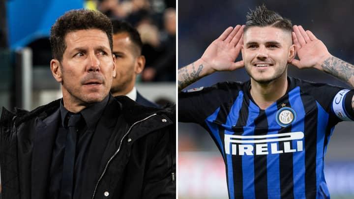 Atlético Madrid Are Plotting A Summer Swoop For Inter Milan Striker Mauro Icardi