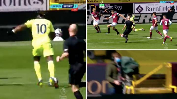 Allan Saint-Maximin Fooled The Cameraman As Well As Burnley Defence With Glorious Chop