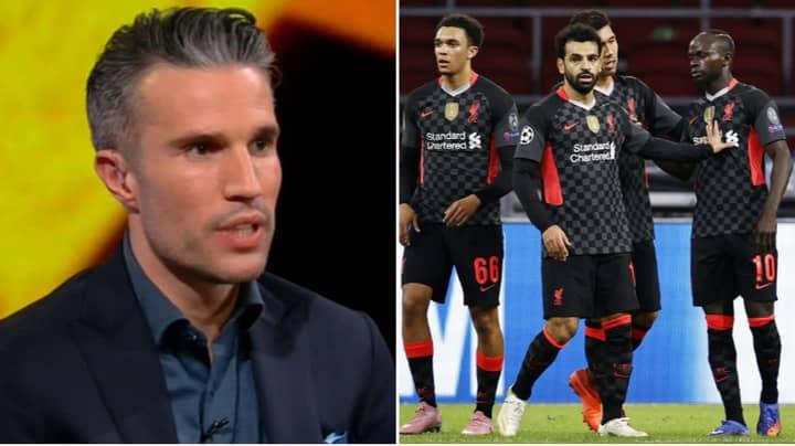 Robin van Persie Says Ajax Were The Better Team Against Liverpool