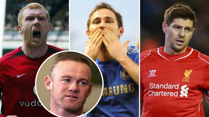 Wayne Rooney Settles Steven Gerrard, Frank Lampard And Paul Scholes Debate Once And For All