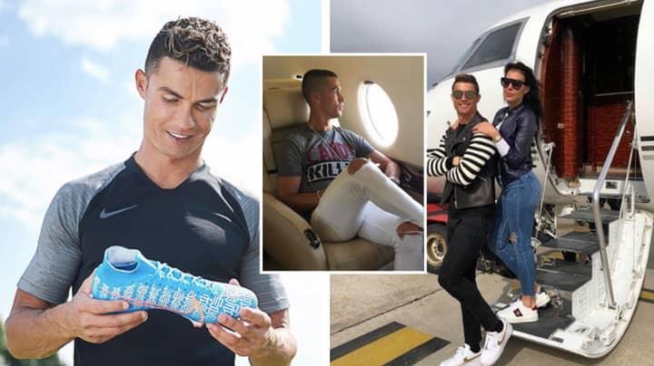 Cristiano Ronaldo Becomes Football's First Ever Billionaire