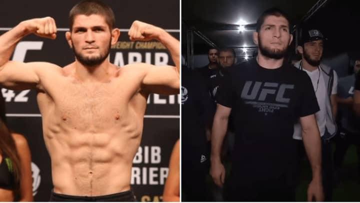 Khabib Nurmagomedov Gains Ridiculous Amount Of Weight Ahead Of UFC 242