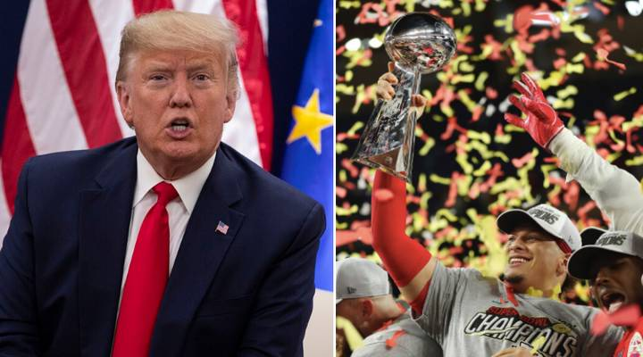 Donald Trump Brutally Mocked After Calamitous Error In His Super Bowl Tweet