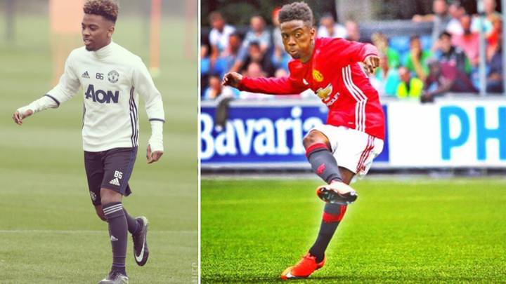 Who Is Manchester United's 16-Year-Old Prodigy Angel Gomes?