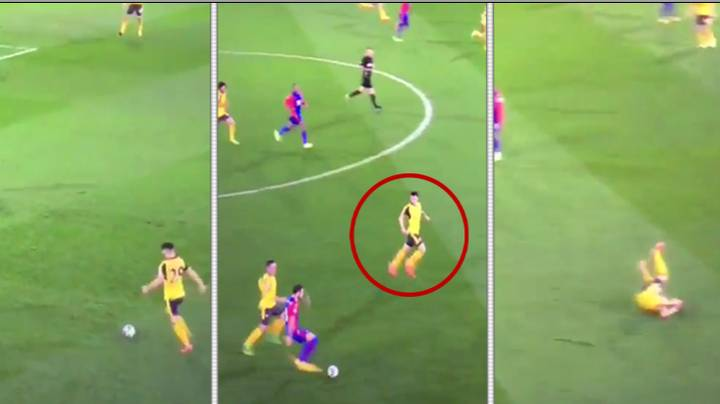 WATCH: 18 Second Clip Of Granit Xhaka vs Crystal Palace Goes Viral