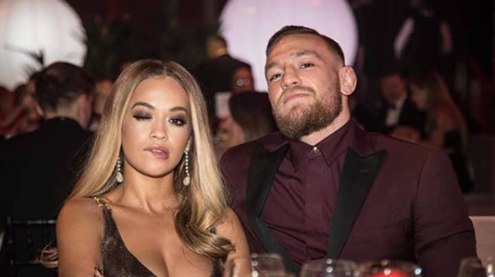 Conor McGregor's Teammate Rinses Rita Ora For Captioning Photo 'Date Night'