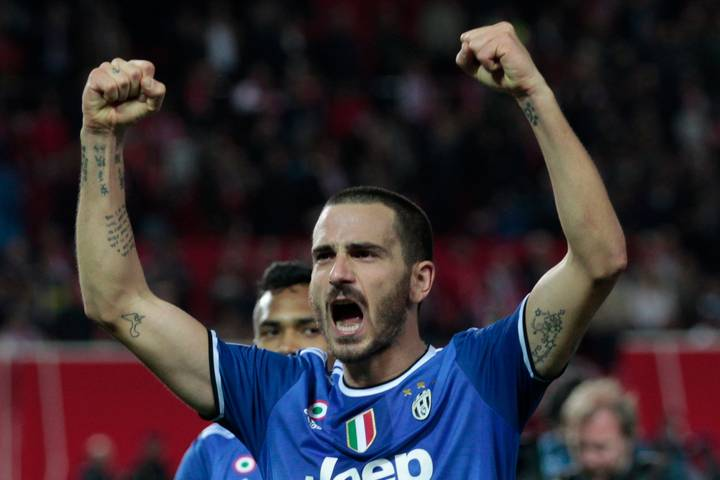 Juventus' Leonardo Bonucci Dropped After Falling Out With Max Allegri