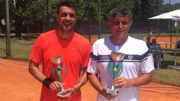 Paolo Maldini Has Qualified For A Professional Tennis Tournament