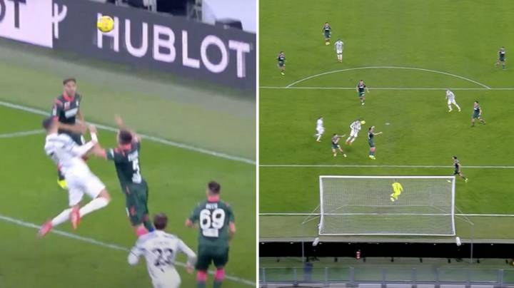 Cristiano Ronaldo's Leap To Score Against Crotone Was Not Normal For A 36-Year-Old