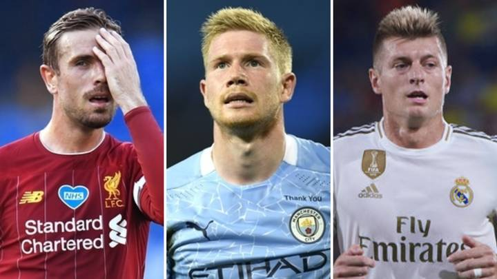 The Top 25 Midfielders In World Football Right Now Have Been Ranked