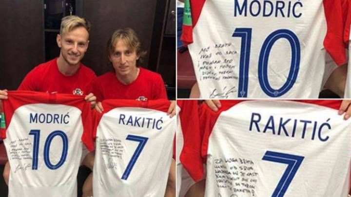 Luka Modric And Ivan Rakitic Swapped Shirts After World Cup Final, Left Touching Messages