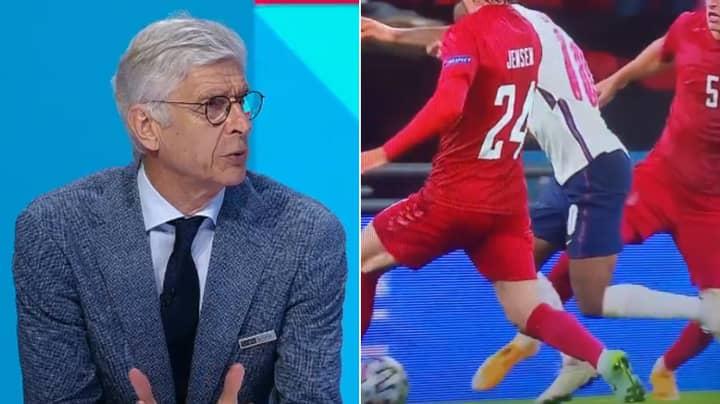 Arsene Wenger Has His Say On England's Penalty Against Denmark