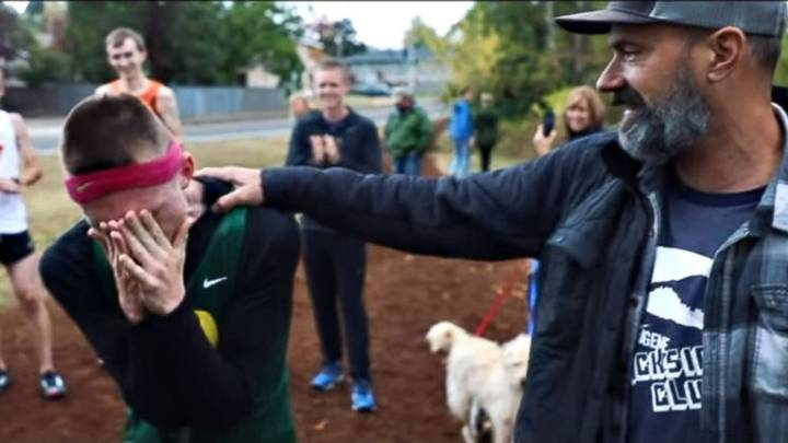 Runner With Cerebral Palsy Makes History After Signing With Nike