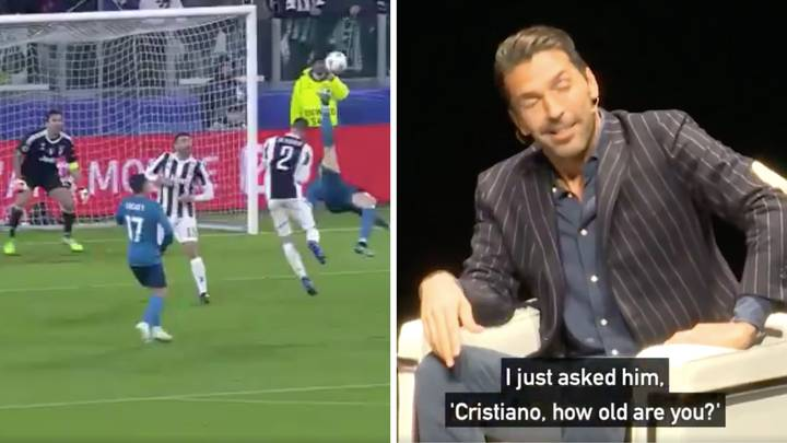 Gianluigi Buffon Remembers The Conversation He Had With Cristiano Ronaldo After Overhead Kick