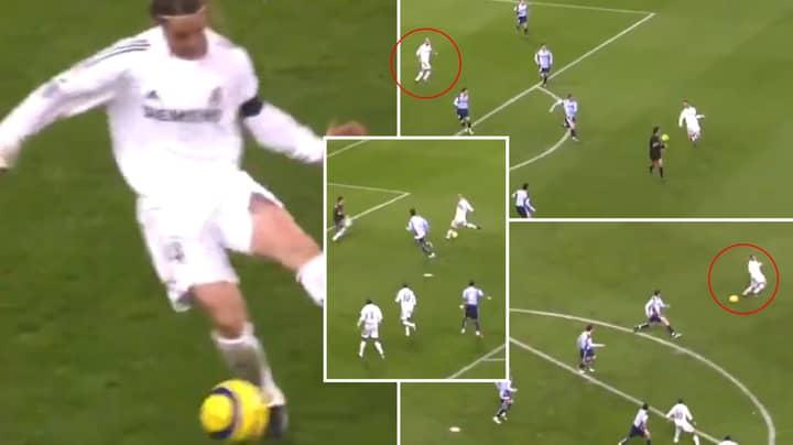 Remembering Guti's Incredible Backheel Assist For Zinedine Zidane