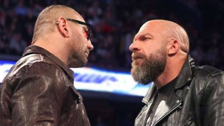 WWE Legend Triple H 'Really Excited' For WrestleMania 35 Match With Batista