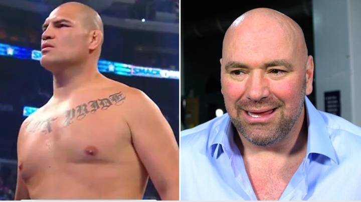 Dana White's Reaction To Cain Velasquez Retiring From UFC To Join WWE