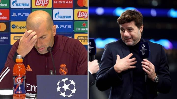 Mauricio Pochettino Favourite For Real Madrid Job With Zinedine Zidane Under Pressure