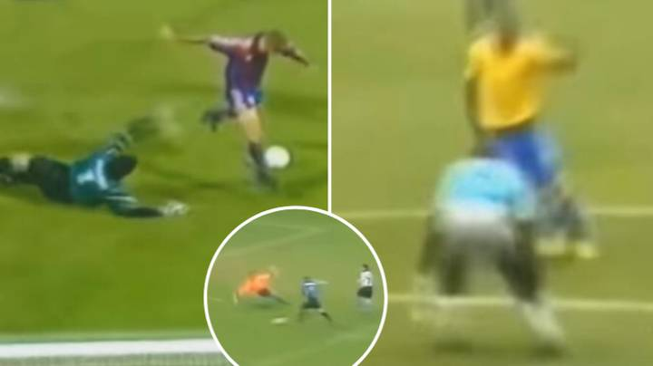 A Compilation Of Ronaldo Nazario Rounding Goalkeepers