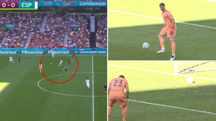 Spain Concede Ridiculously Bad Own Goal In Euro 2020 Last 16