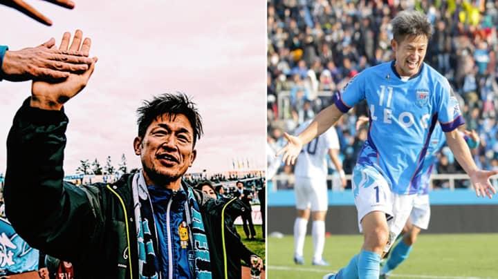 'King Kazu' Miura, World's Oldest Footballer, Turns 52 Today
