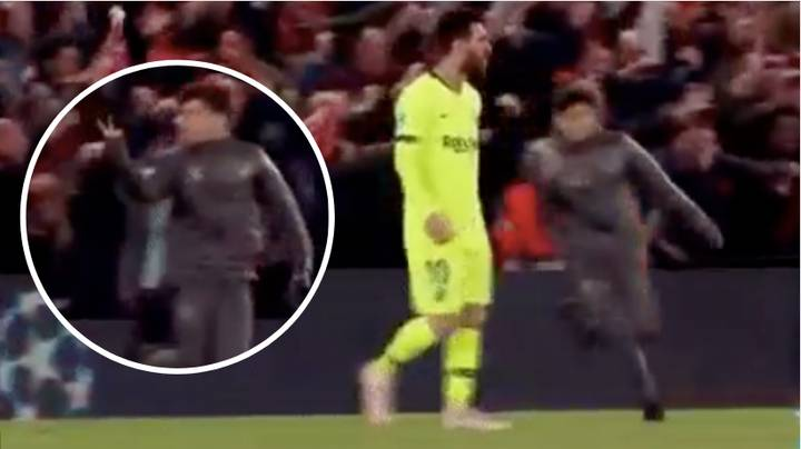 Kid Gave Lionel Messi Two Fingers Gesture When Full-Time Whistle Blew