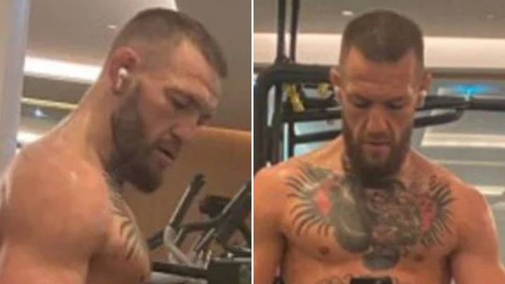 Conor McGregor Flaunts His Ridiculous Biceps Online - He's SERIOUS About Destroying Dustin Poirier