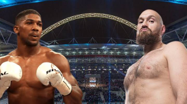 Anthony Joshua Says He Would Fight Tyson Fury Behind Closed Doors
