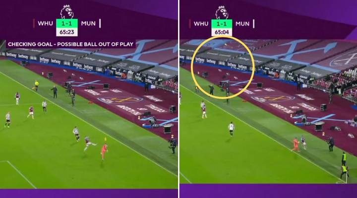 VAR Called Into Action Over Dean Henderson's Clearance In Build-Up For Paul Pogba's Sensational Goal