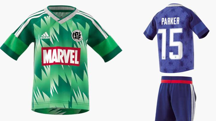 Adidas Are Bringing Out A Range Of Marvel Superhero Football Kits In 2018