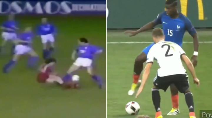 Fan Creates Paul Pogba And Graeme Souness Comparison Video Amidst Feud Between Pair