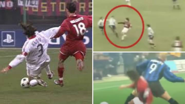 Footage Of Paolo Maldini's Greatest Tackles Is A Masterclass In Defending