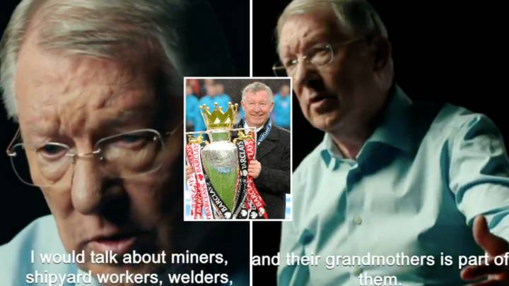Sir Alex Ferguson Reveals His Genius Motivation Techniques In Clip From New Documentary