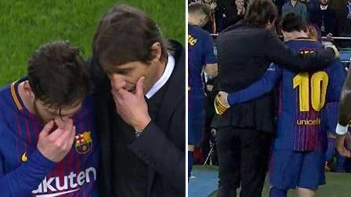 What Antonio Conte Said To Lionel Messi After Full-Time Is Absolute Class