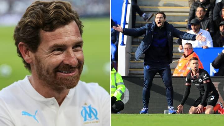 Andre Villas-Boas Will Be Loving Jorginho's Frank Lampard Complaint