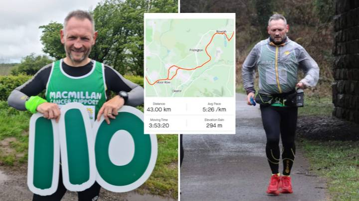 Meet The Man Who Has Ran 110 Marathons In 110 Days For Charity
