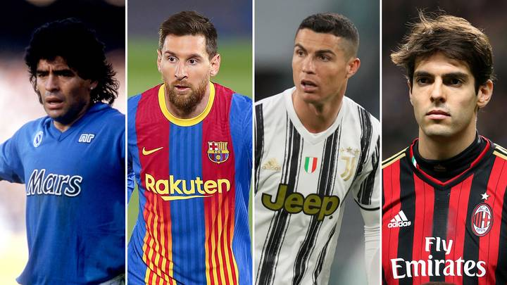 The 50 Greatest Footballers Of All-Time Have Been Named And Ranked