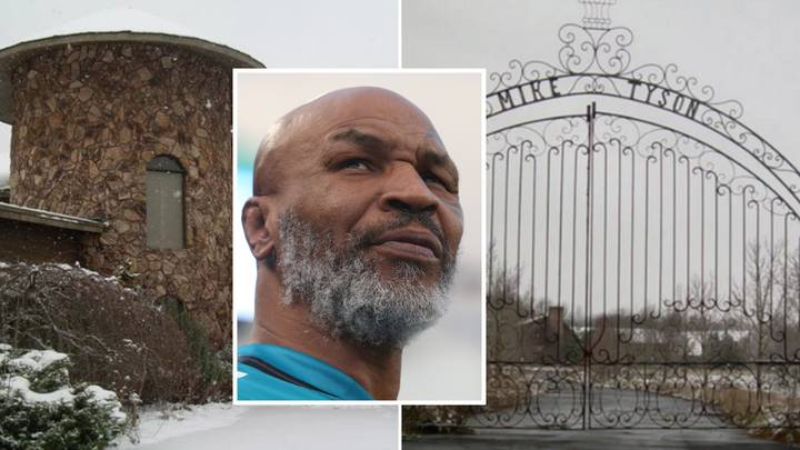 Inside Mike Tyson's £890,000 Mansion Which Has Been Converted Into A Church
