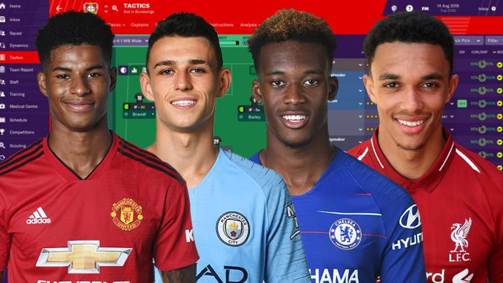 Football Manager Predicts How England's Young Stars' Careers Will Pan Out