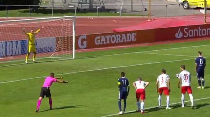 Goalkeeper Saves Three Penalties In A Row After They Were All Retaken During UEFA Youth League Match