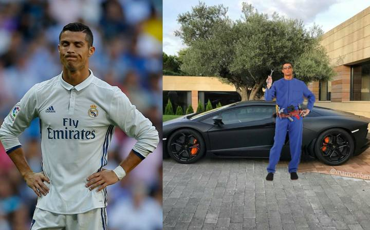 Photoshoppers Rip Into Cristiano Ronaldo After Latest Instagram Upload
