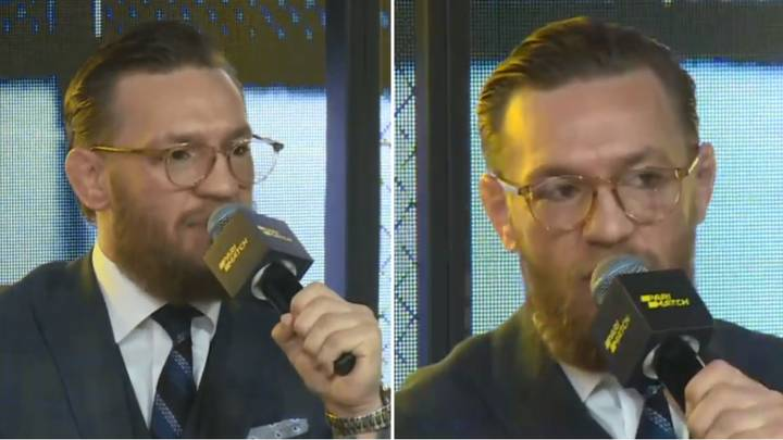 Conor McGregor Officially Announces UFC Comeback At Moscow Press Conference