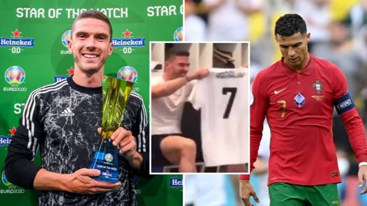 Germany's Robin Gosens Got Back At Cristiano Ronaldo With Masterclass Against Portugal