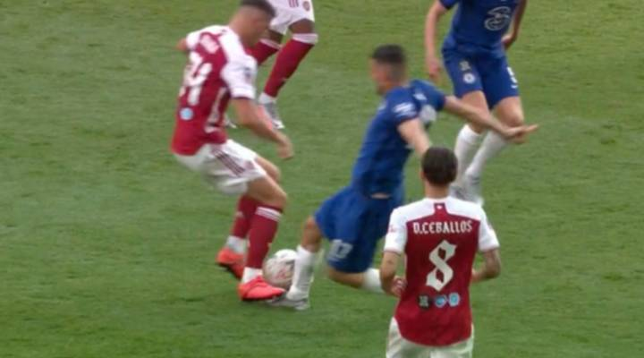 Mateo Kovacic Sent-Off In FA Cup Final After Questionable Booking