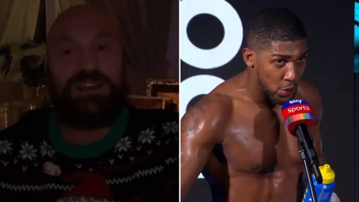 Tyson Fury Says Anthony Joshua 'Sh*t Himself' On Live TV Over Title Unification Fight