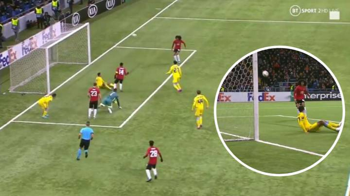 Tahith Chong Misses Open Net Before Astana Equalise Vs Manchester United