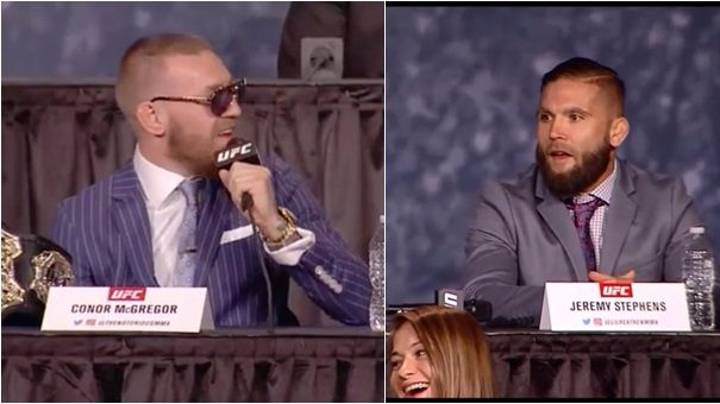 Jeremy Stephens Finally Responds To McGregor's 'Who The F**k Is That Guy?' Taunt