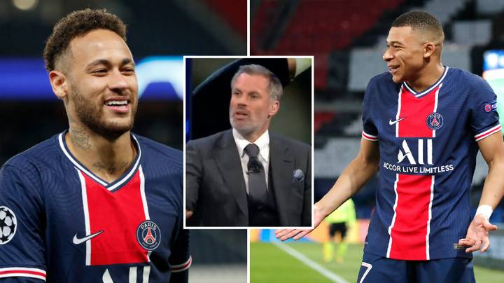 Jamie Carragher Thinks Neymar And Kylian Mbappe Are Too Good For PSG